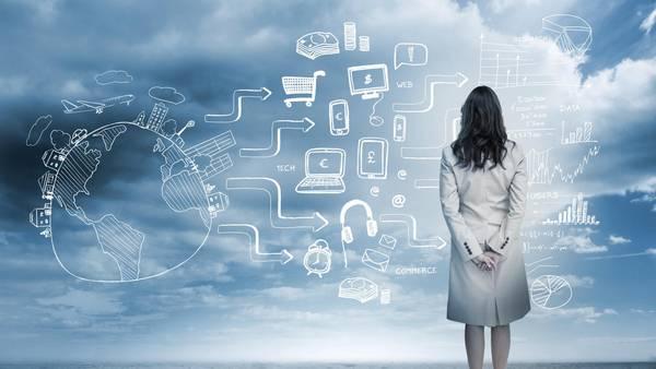 Mujer-tecnologia