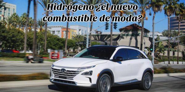 combustible hidrógeno coche