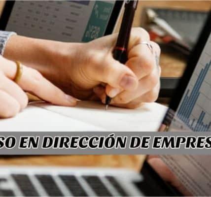 curso en dirección de empresas