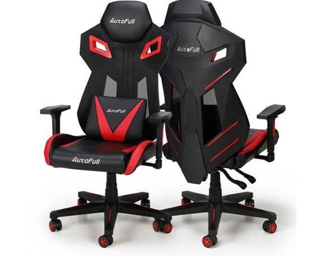 silla gaming para combatir dolores de espalda