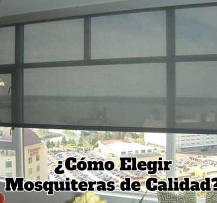 como elegir mosquiteras de calidad