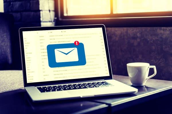 recibir un mail de newsletter